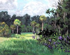 Fair Oaks, Evinston, FL  8x10 inches  acrylic  mahogany frame  300.00  http://artistsinresidenceproject.blogspot.com