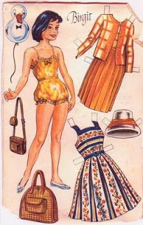 Kathleen Taylor's Dakota Dreams: Thursday Tab- Danish OTA Dolls, Birgit and Kirsten Clothes Crafts, Doll Clothes, Paper Toys, Paper Crafts, Diy Crafts, Paper Dolls Printable, Vintage Paper Dolls, Retro Toys, Christmas Paper