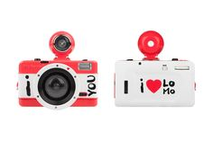Lomography - Valentine's Cameras Edition, 2011 by Montserrat Llaurado, via Behance