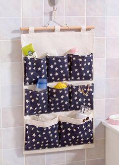 8 pockets star pattern storage pocket /wall pocket / by Sunncry