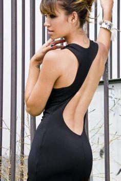 A sexy new twist on a classic maxi dress! Thanks ustrendy.com!