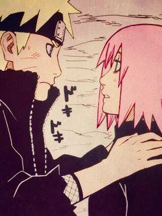 Naruto Uzumaki x Sakura Haruno | NaruSaku / SakuNaru | Orange / Yellow & Pink / Red | Heaven & Earth | The King & Queen | Hero & Heroine | Naruto Shippuden | manga anime couple ship | OTP