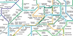 The Greenground Map by Helen Ilus was inspired by the iconic London tube map as an alternative sustainable transport map. The 'green lines' are representing the connections between parks and could be walked and cycled. As a conceptual map the lines do not exactly represent the real routes, but rathe... London Tube Map, Transport Map, Sustainable Transport, Allotment Gardening, Area Map, Park City, Kayaking, Tourism, National Parks