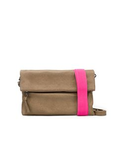 Love the idea of this clutch! neons and neutrals forever.