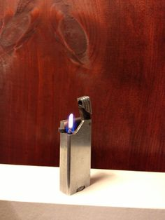 SALE Working Art Deco Lift Arm Lighter by TheLeafery on Etsy, $19.00