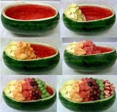 Watermelon bowl for summer