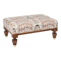 Ottoman Footstool, Ottomans, Furniture Collection, Solid Oak, Furniture Making, Timeless Design, Room Inspiration, Fabric Design, Modern