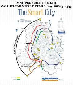 Smart City Revanta Location Map , L zone Property , Smart Residency Dwarka Delhi