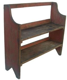 Pine Bucket Bench from Country Treasures