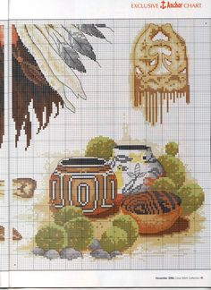 Gallery.ru / Фото #35 - Cross Stitch Collection 137 ноябрь 2006 - tymannost