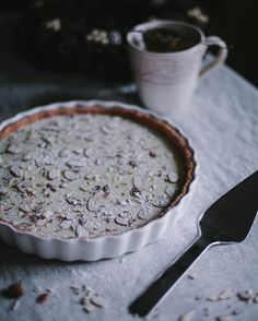 Savor Pastry Server Quiche Dish  chocolate dessert holiday peppermint This white chocolate peppermint tart by @evakosmasflores is guaranteed to be a hit at your holiday party. Click link in bio for recipe!