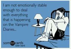 Cried so hard this week between TVD & TO. Julie Plec is trying to kill all of us with a broken heart!!!