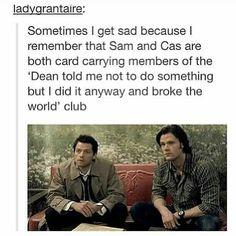 Well so did Dean so...