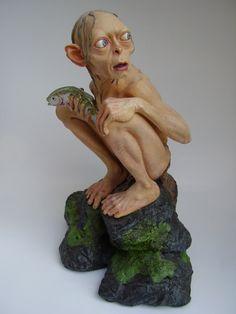 Weta Smeagol Statue