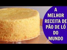 Receita e modo de fazer pao de ló fofinho_ bellbolos - YouTube
