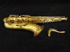 Vintage Selmer Paris Super Balanced Action Un-Lacquered Tenor Saxophone, Serial Number 53621 - Photos
