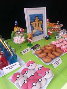 Video Game Birthday Party Ideas | Photo 6 of 6 | Catch My Party