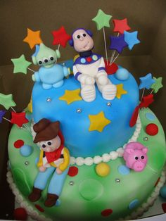 Toy Story 3D Cake for kids party