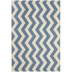 @Overstock - Perfect for any backyard, patio, deck or along the pool, this rug is great for outdoor use as well as any indoor use that requires an easy to maintain rug.http://www.overstock.com/Home-Garden/Safavieh-Courtyard-Blue-Beige-Indoor-Outdoor-Rug/7357017/product.html?CID=214117 $21.99