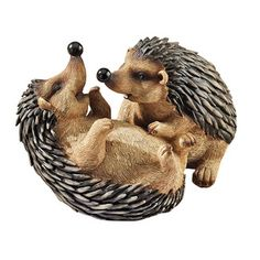 Design Toscano Hyper Hedgehogs Garden Statue - I bough this and LOVED it. But my dad knocked it over and broke it. SO SAD. :(