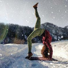 Winter wonderland with @mariagloriaclara.