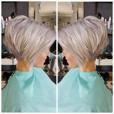 Are you looking for Medium Hair Cuts With Layers For Women See our collect. - - Are you looking for Medium Hair Cuts With Layers For Women See our collection full of Medium Hair Cuts With Layers For Women 2018 and get inspir. Bob Haircuts For Women, Best Short Haircuts, Short Bob Hairstyles, Hairstyles 2018, Short Stacked Haircuts, Short Stacked Bobs, Inverted Bob Hairstyles, Trending Hairstyles, Braided Hairstyles