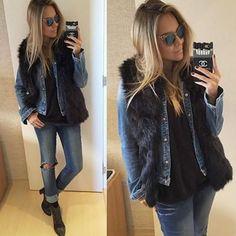 Inspiração de look para hoje arrematado com o Fendi Iridia (0060) ❄️ @dani__cardoso sempre arrasando  #fendi #fendiirida #fendisunglasses #ootd #lookdodia #look #outfit #outfitoftheday #envyotica #modasolar