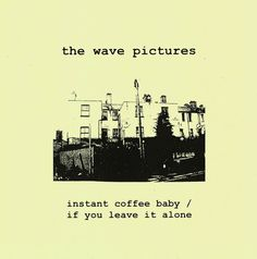 """If You Leave It Alone"" by The Wave Pictures - listen with #YouTube, #Spotify, #Rdio & #Deezer on LetsLoop.com"