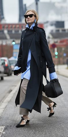 Oh my ... the epitome of chic! Copenhagen Fashion Week, Fall 2018.