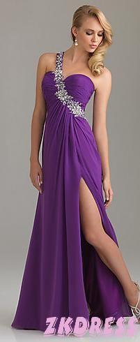 Lavendar Prom Ballroom Dress