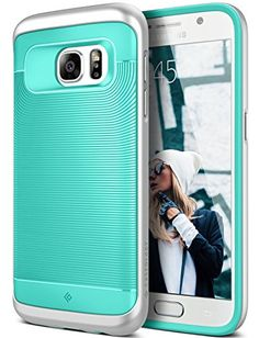 Galaxy Case, Caseology [Wavelength Series] Slim Ergonomic Ripple Design  [Mint Green] [Modern Grip] For Samsung Galaxy