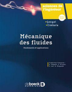 Mécanique des fluides/Yunus A.  Çengel, 2017