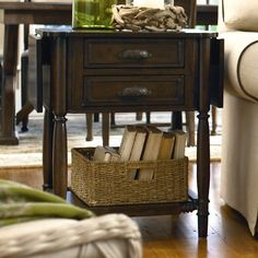 Down Home End Table in Molasses - Paula Deen on Joss and Main