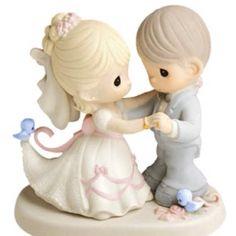 Wedding cake topper <3