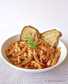 Zuppa di seppie e fagioli