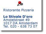 Ristorante Lo Stivale d'Oro - Italiaans restaurant Amsterdam