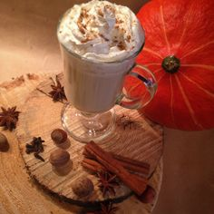 Homemade pumpkin spice latte!