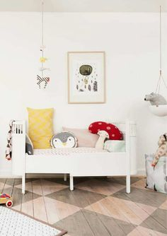 Oh-so-fabulous wood room | 10 Ecclectic Kids Rooms - Tinyme Blog
