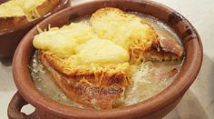 Sopa crema de cebolla gratinada Knorr