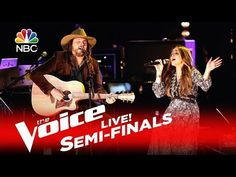 """The Voice 2016 Alisan Porter and Adam Wakefield - Semifinals: """"Angel from Montgomery"""" - YouTube"""