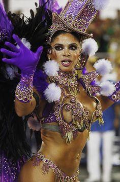 Samba Carnival Rio de Janeiro, Brazil