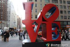 Escultura LOVE, NY.