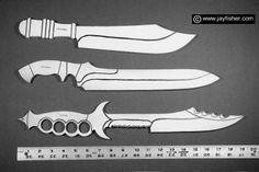 Master chef's knives, professional butcher knife, large art knife, collectors knives, fine handmade custom knives works of knife art