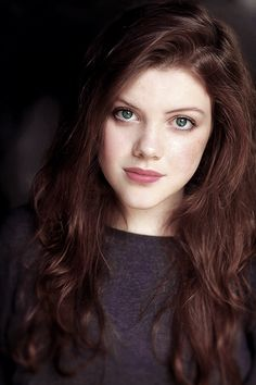 Georgie Henley - could probably play Kylara if her hair were slightly lighter...