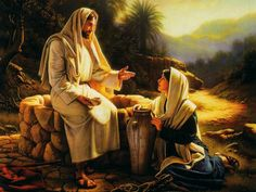 Jesus Speaking with the Woman at the Well