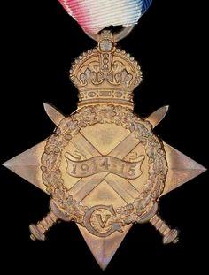 WW1 World War One 1914 - 15 Star Medal WWI