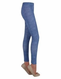 SuiteBlanco- Legging estampado denim