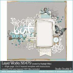 Layer Works No. 479- Studio Double-D Templates- LT959182- DesignerDigitals