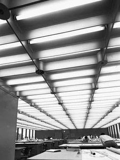 General Motors technical center studio. Eero Saarinen