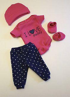 "Sculpted OOAK Baby Doll Clothes Bodysuit Tiny Miracle Mini Reborn Preemie 10"""